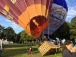 Magnifieke ballonvlucht opgestegen op startlocatie 's-hertogenbosch op zondag 9 september 2018