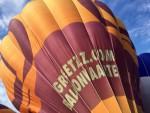 Ongekende ballon vaart in de omgeving 's-hertogenbosch op zondag 9 september 2018