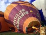 Jaloersmakende ballonvlucht gestart in 's-hertogenbosch op zondag 9 september 2018
