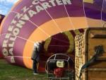 Schitterende ballonvaart gestart op opstijglocatie 's-hertogenbosch op zondag 9 september 2018