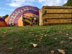 Meesterlijke luchtballonvaart in de buurt van 's-hertogenbosch op zondag 9 september 2018