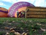 Verrassende luchtballon vaart in de omgeving van 's-hertogenbosch op zondag 9 september 2018