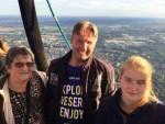 Betoverende luchtballonvaart vanaf startlocatie Tilburg op zondag 9 september 2018