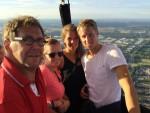 Feestelijke ballonvaart in Tilburg op zondag 9 september 2018