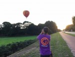 Weergaloze ballonvlucht in de omgeving van Tilburg op zondag 9 september 2018