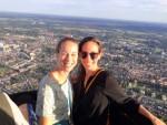 Adembenemende ballon vlucht gestart in Tilburg op zondag 9 september 2018